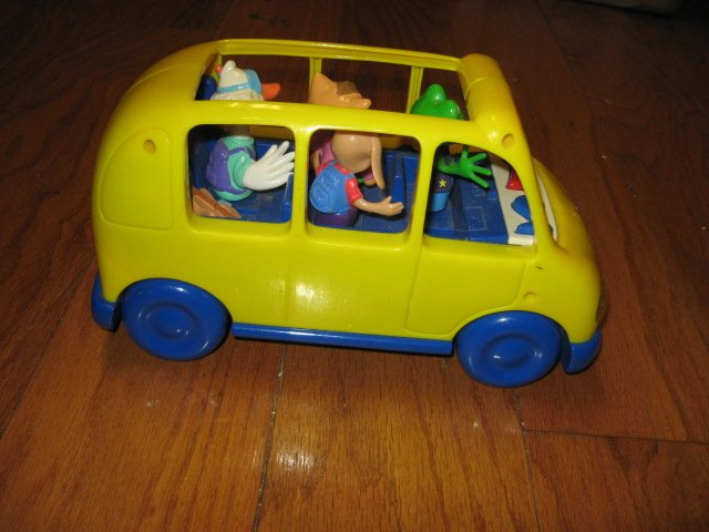 Image 2 of An Adorable School bus toy phonics fun learn 1999 rare like new