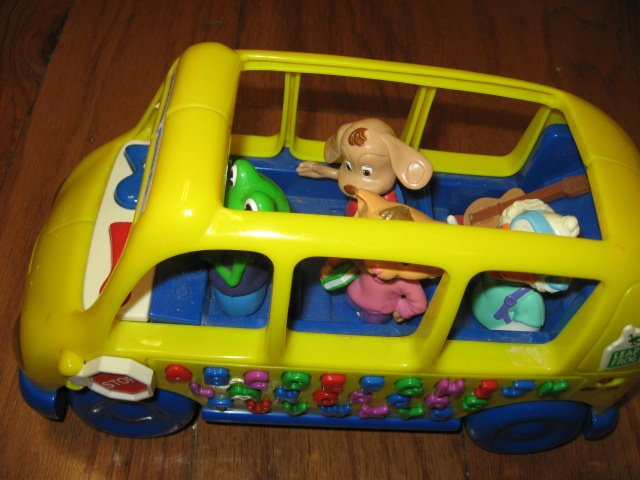 Image 0 of An Adorable School bus toy phonics fun learn 1999 rare like new