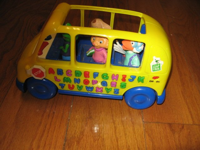 Image 1 of An Adorable School bus toy phonics fun learn 1999 rare like new
