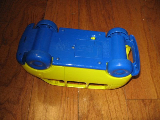 Image 4 of An Adorable School bus toy phonics fun learn 1999 rare like new