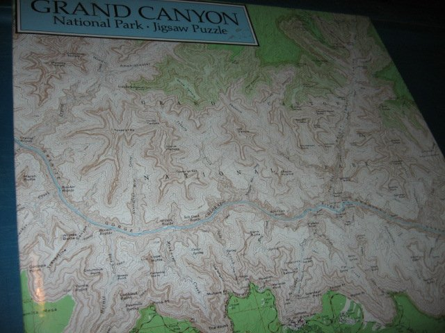 Grand Canyon  500 piece puzzle challenge