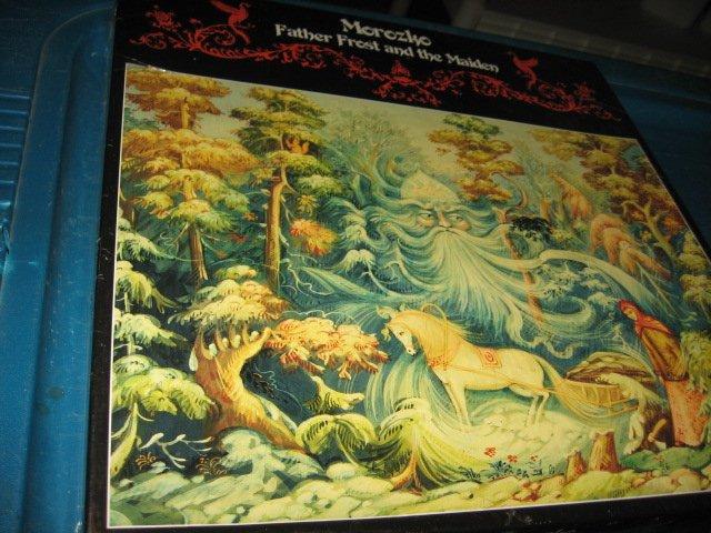 Father Frost Fairy tale scene 550 piece puzzle new in box