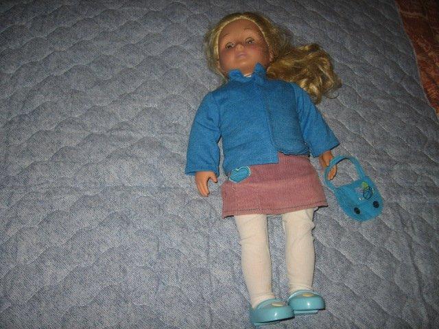 Battat girl doll jacket leggings shoes purse dress