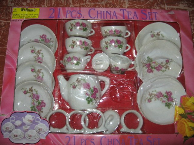 china tea play set 21 piece age 8 and up