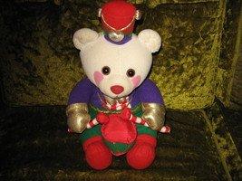 Christmas Avon collectable plush soldier drummer teddy bear