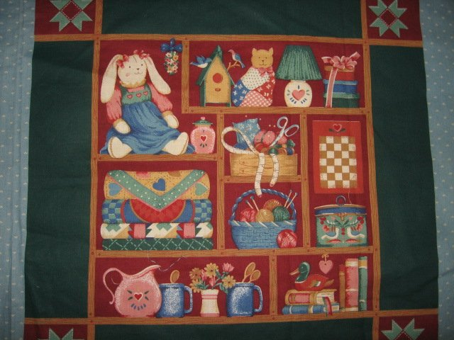 Sewing Notions Pillow Panel set of two Fabric to sew