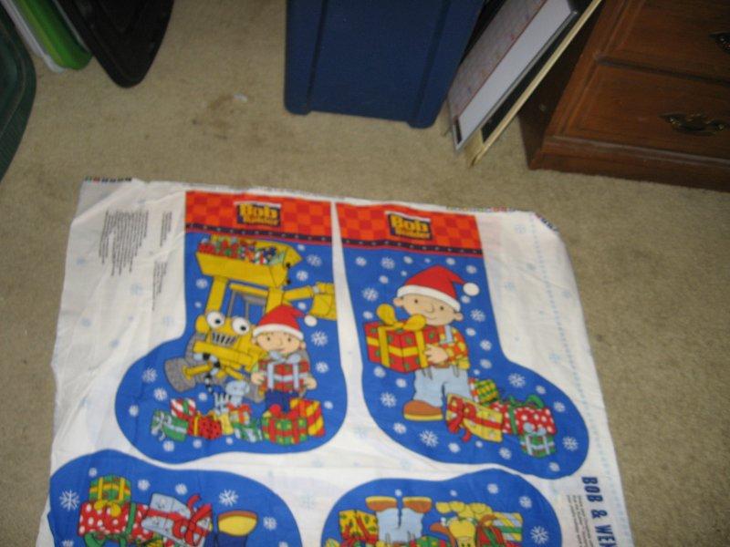 Bob Wendy Christmas stockings set of two you sew