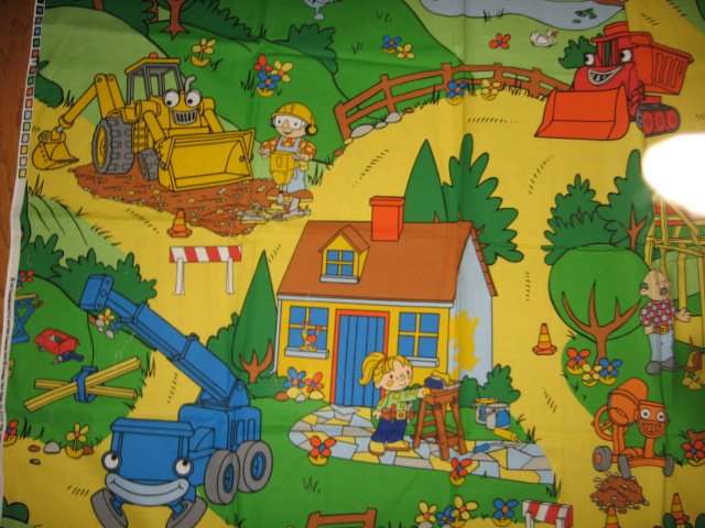 Bob the Builder  Bob Wendy Friends Vehicles Play Mat 36 inch by 44 inch