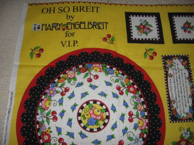 Mary Engelbreit Coaster PlaceMat PotHolder to sew