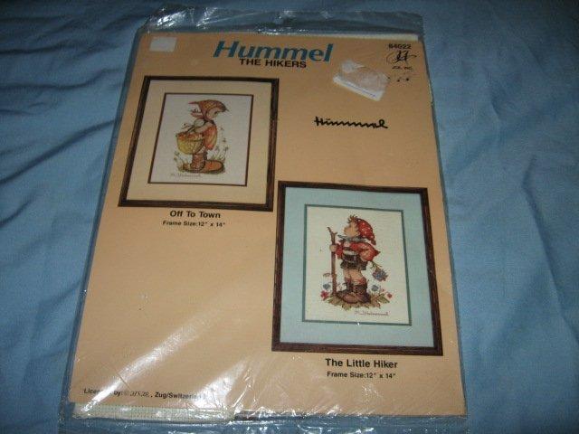 Hummel Little Hiker cross stitch craft kit new