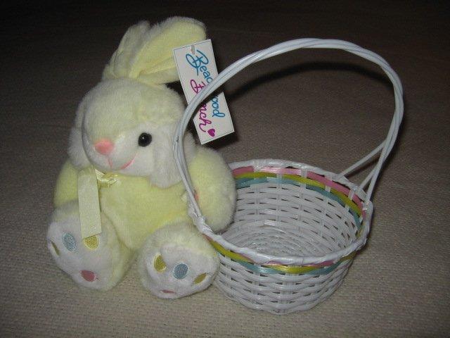 Beachwood Bunch Easter Bunny and basket