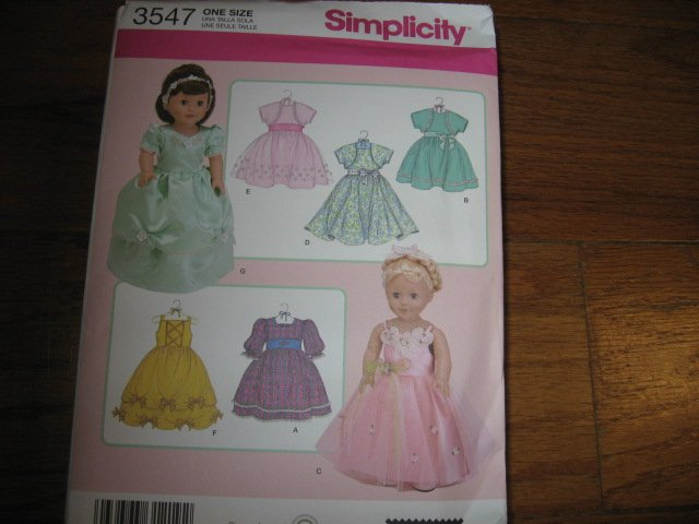 girl doll clothes pattern to sew