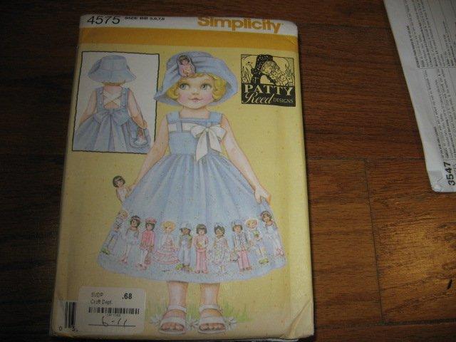 girl dress purse hat to sew