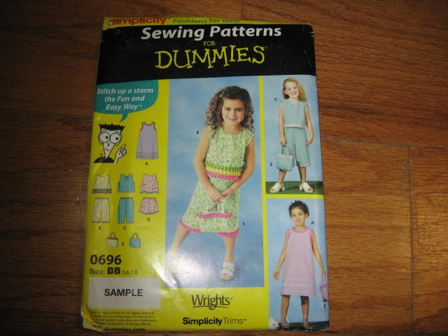 girl dress purse tops pants shorts to sew