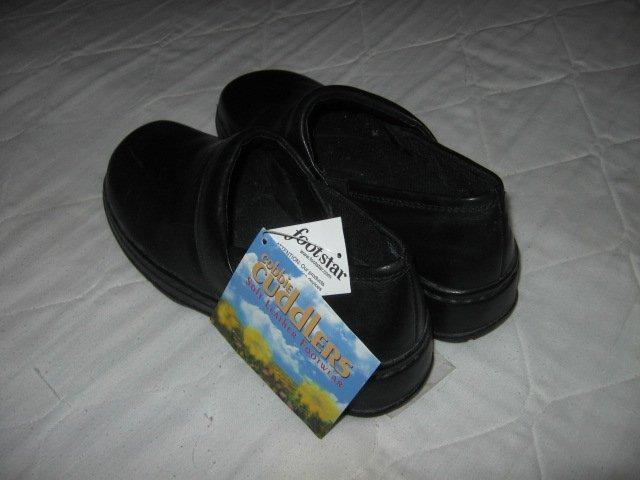 Cobbie Cuddlers woman shoes size 7 1/2 black new