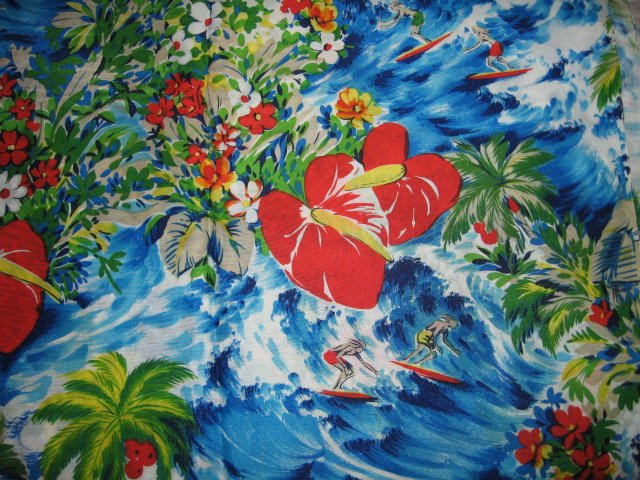 Surfboard fabric silky by Hoffman