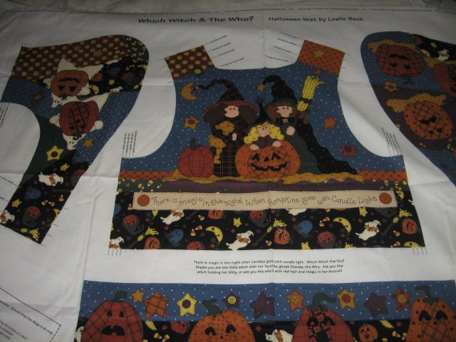 vest which witch the who cotton fabric to sew for kids