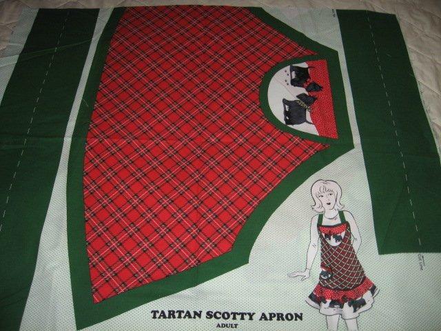 Tartan Scotty Apron to sew