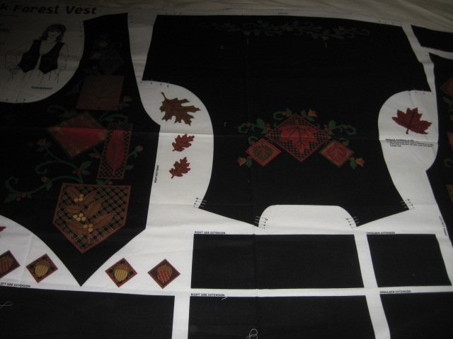 Black Forest Vest to sew