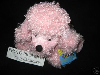 Image 0 of Webkinz Pink Poodle Ganz Sealed Tag Unused Code
