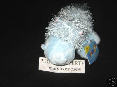 Webkinz Blue Hippo Ganz Sealed Tag Unused Code nwt