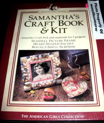 Image 0 of American Girl Samantha's craft book and kit to make