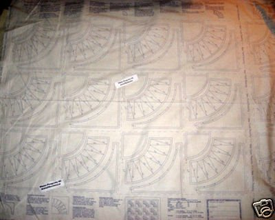 American Beauty 100% cotton Piecing fabric Panels to make quilting easy