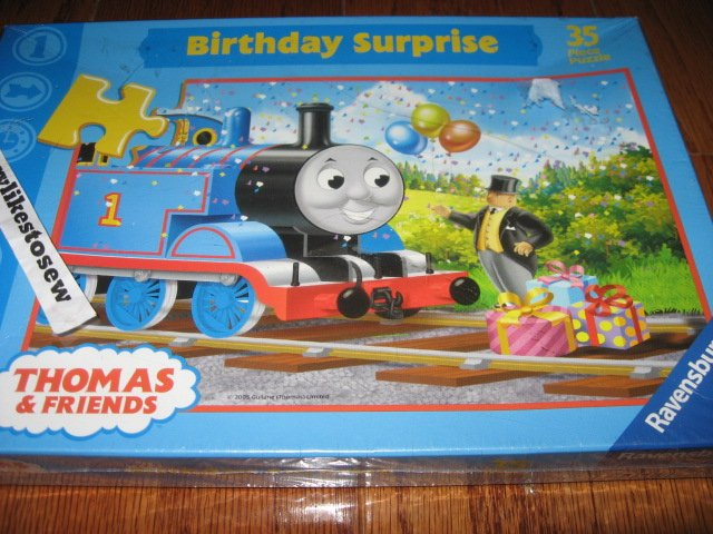 Image 0 of Ravensburger Thomas the Train and Friends Birthday Surprise new sealed Puzzle