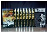 Sky King Collection on high quality VHS tapes in beautiful video boxes. Nine (9) tapes, arranged in the original chronological order.