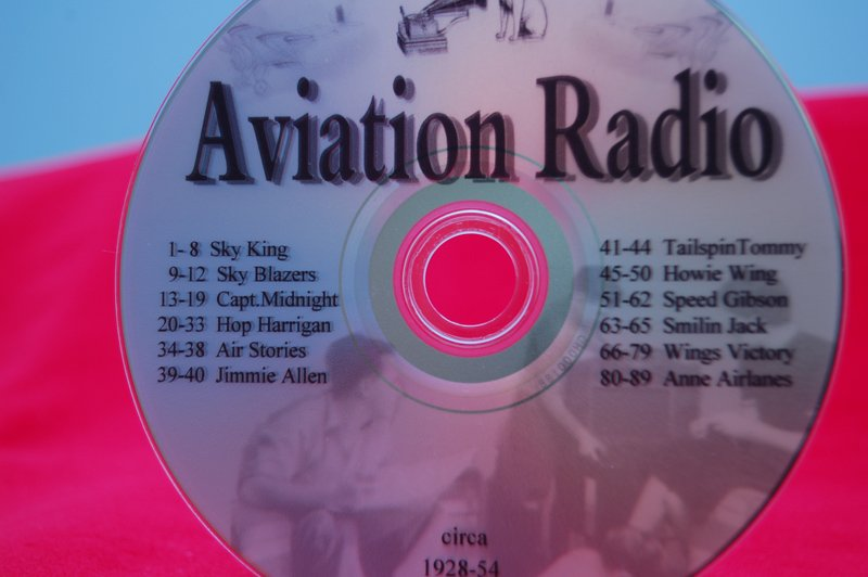 Image 0 of Historical Aviation Radio Shows CD