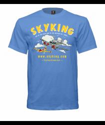 Sky King Bamboo Bomber T-Shirt sm