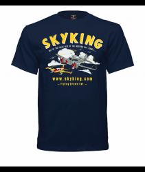 Sky King Bamboo Bomber T-Shirt XLg