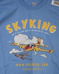Sky King T-shirt Cessna 310  Sm Carolina Blue