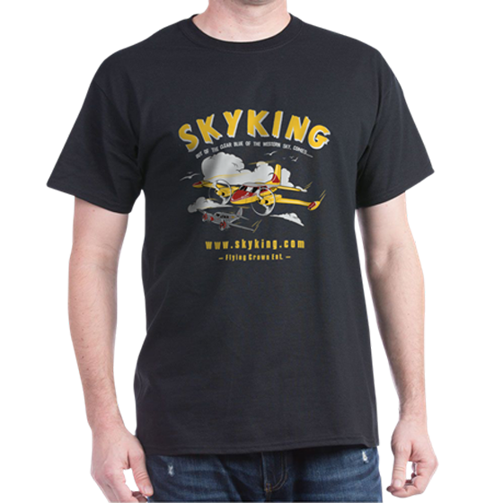 Image 1 of Sky King T-shirt Cessna 310 Lg Black