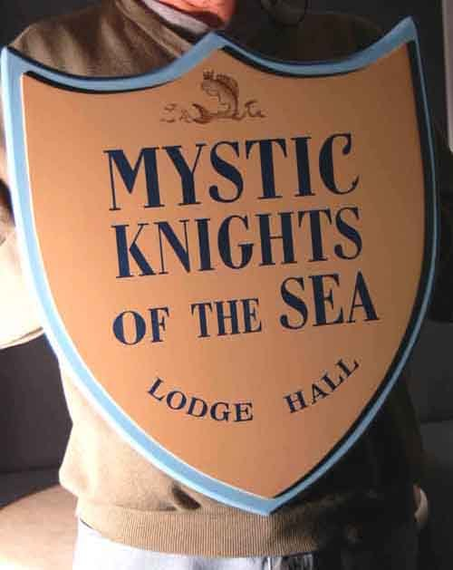 Image 0 of 'Mystic Knights of the Sea' Lodge Sign from
