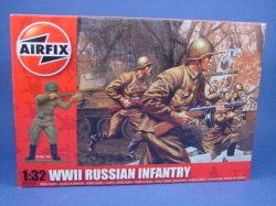 Thumbnail of Airfix 1:32 Toy Soldiers WWII Russian Infantry 14 Piece Set 2704