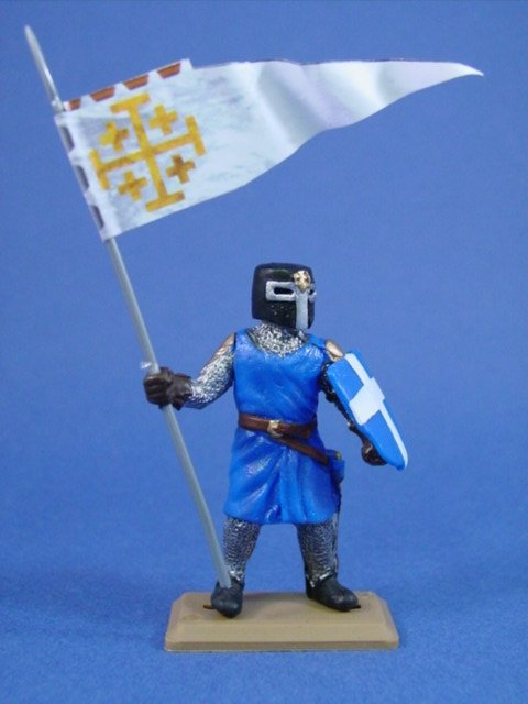 Britains Deetail DSG French Knight with Banner