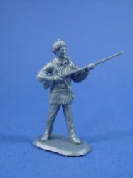Thumbnail of Marx 45mm Alamo Playset Davy Crockett Character Figure Cast in Silver
