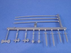 Thumbnail of Britains Deetail DSG 12 Piece Medieval Weapons Replacement Sprue