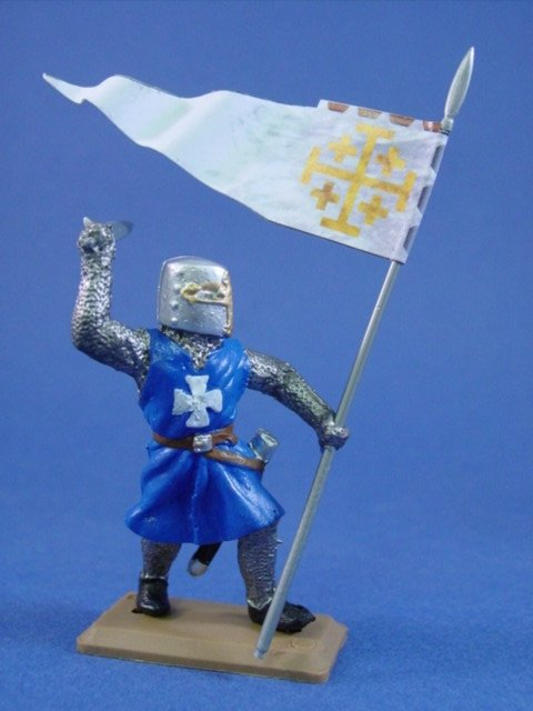 Britains Deetail DSG French Knight with Banner #2