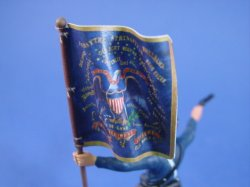 Union Cavalry Flag http://www.battlefieldlegendstoysoldiers.com/store.php/pd3407988/britains_deetail_union_toy_soldiers_2nd_kansas_volunteer_cavalry_flag_bearer