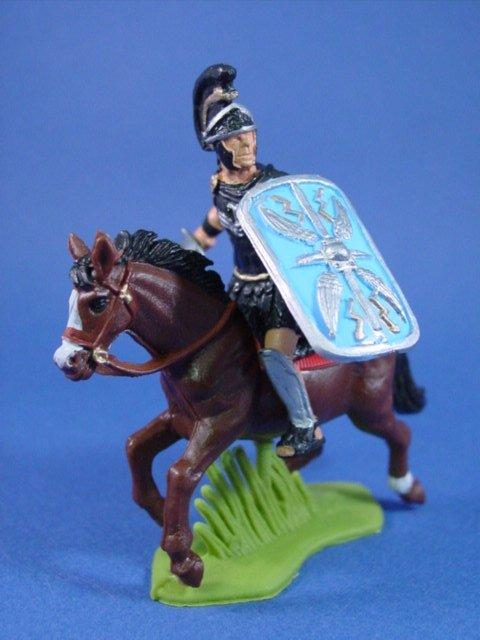 Britains Deetail DSG Toy Soldiers Mounted Roman Praetorian Officer
