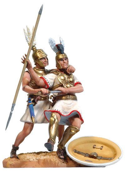 Roman Infantryman and Samnite Heavy Infantryman BH-0315