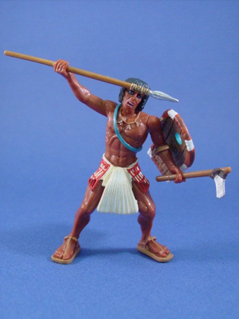 Safari Toy Soldiers Egyptian Warrior with Spear