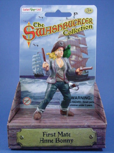 Safari Toy Soldiers Pirate First Mate Anne Bonny