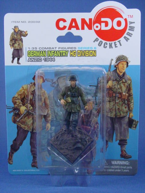 Toy Soldier Dragon Painted WWII German Anzio 1944 CanDo 1/35 Scale Figure D