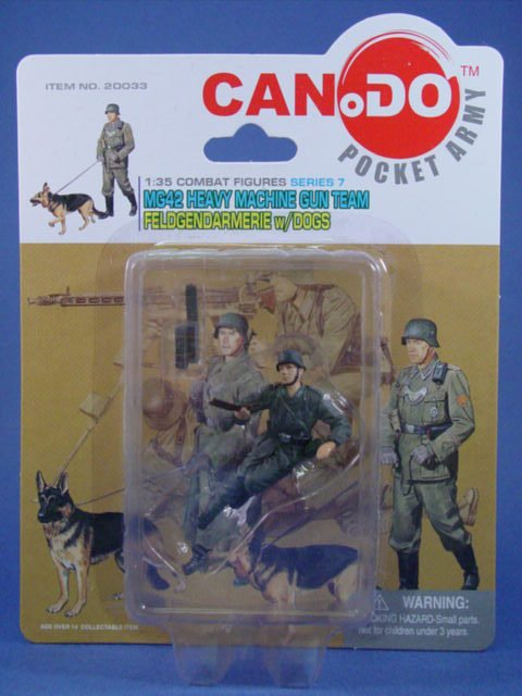 Toy Soldier Dragon Painted WWII German MG42 Assistant CanDo 1/35 Scale Figure C