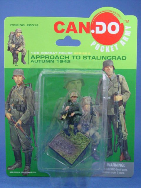 Toy Soldier Dragon Painted WWII German Stalingrad 1942 CanDo 1/35 Scale  Figure A
