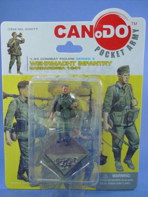 Toy Soldier Dragon CanDo 1/35 Scale Painted WWII German Barbarossa Figure D