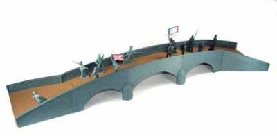 Plastic Toy Soldiers Battle of Antietam Burnside Bridge Playset